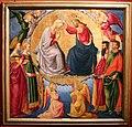 Neri di bicci, incoronazione della vergine e santi, 1460-61 (museo innocenti, fi) 01.jpg