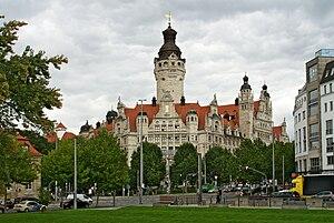 Hugo Licht - Image: Neues Rathaus Leipzig 1