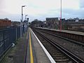 New Cross station southbound mainline platform look south.JPG