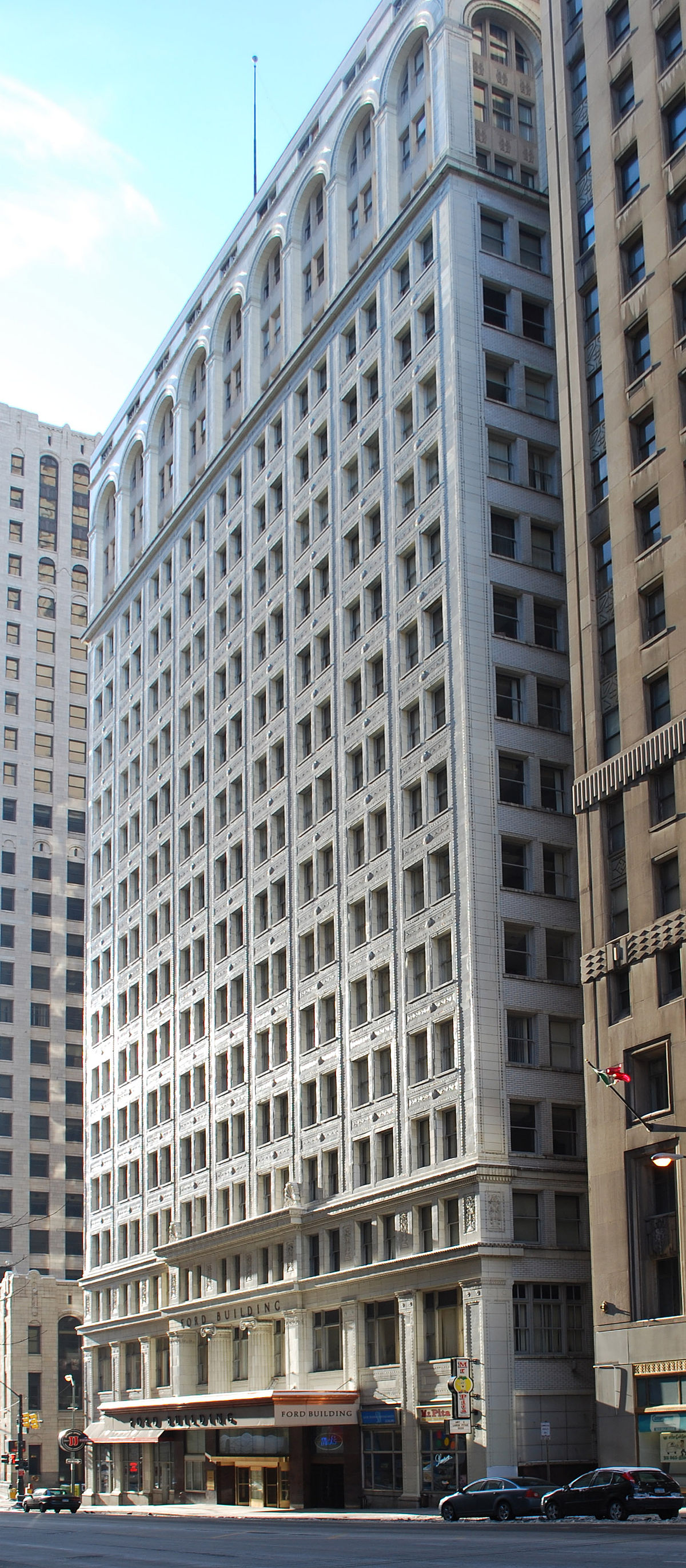 Language In 45 And 47 Stella Street: Ford Building (Detroit)