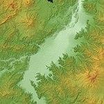 Ngano Basin Relief Map, SRTM-1.jpg