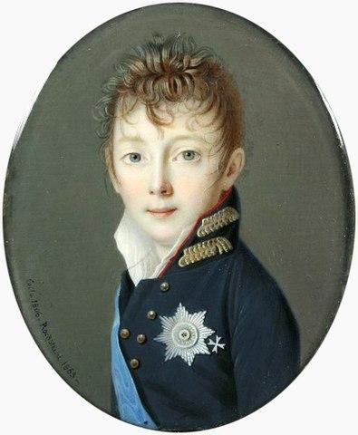 Великий князь Николай Павлович (1806 год). А. Рокштуль