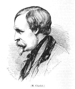 Nicolas Toussaint Charlet - A portrait of Charlet