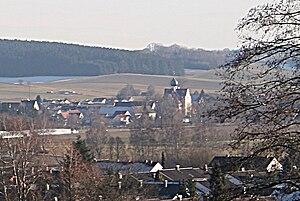 Niederraunau - Niederraunau from northwest