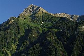 mountain in Swiss Alps