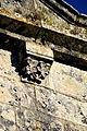 Nieul-le-Virouil église Saint-Séverin Modillon façade 12.JPG