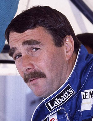 1991 FIA Formula One World Championship - Nigel Mansell finished as runner-up with Williams.