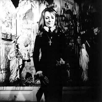 Niki de Saint Phalle - 1970 portrait by Lothar Wolleh