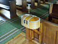 Nikkaluokta kyrka collect box2.jpg