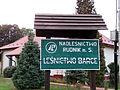 Nisko - Leśnictwo Barce - tabliczka.jpg