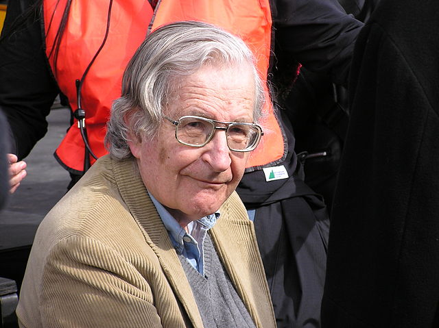 Noam Chomsky 2004 flickr