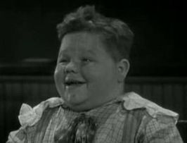 Chubby in School's out uit 1930