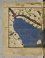Noroeste da Península Ibérica na Tábula Rogeriana ou Grande Atlas de al-Idrisi (1) (original, 1154; cópia, c. 1300).jpg