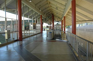 North Concord/Martinez station - The concourse level of the North Concord / Martinez BART Station
