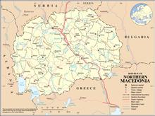 Description de l'image North Macedonia Map.png.