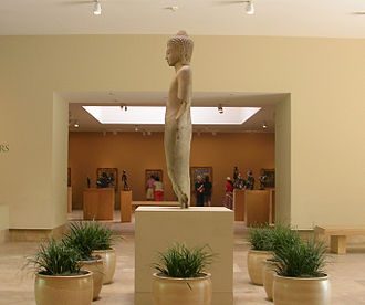 Norton Simon Museum - The museum entrance hall