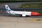 Norwegian (Amy Johnson Livery), EI-FVJ, Boeing 737-8JP (37087532241).jpg