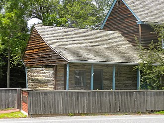 Swedish Americans - The C. A. Nothnagle Log House (c. 1638) in New Jersey is one of the oldest surviving houses from the New Sweden colony and is one of the oldest log cabins and houses in the U.S.