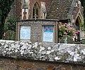 Notice board St.John the Baptist's Church - geograph.org.uk - 486709.jpg