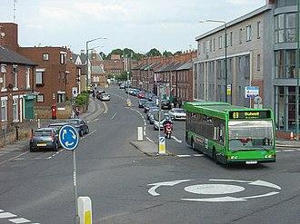 Basford, Nottingham - Image: Nottingham Road, Basford geograph.org.uk 860229