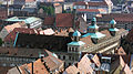 Nuremberg - town hall from the castle.JPG