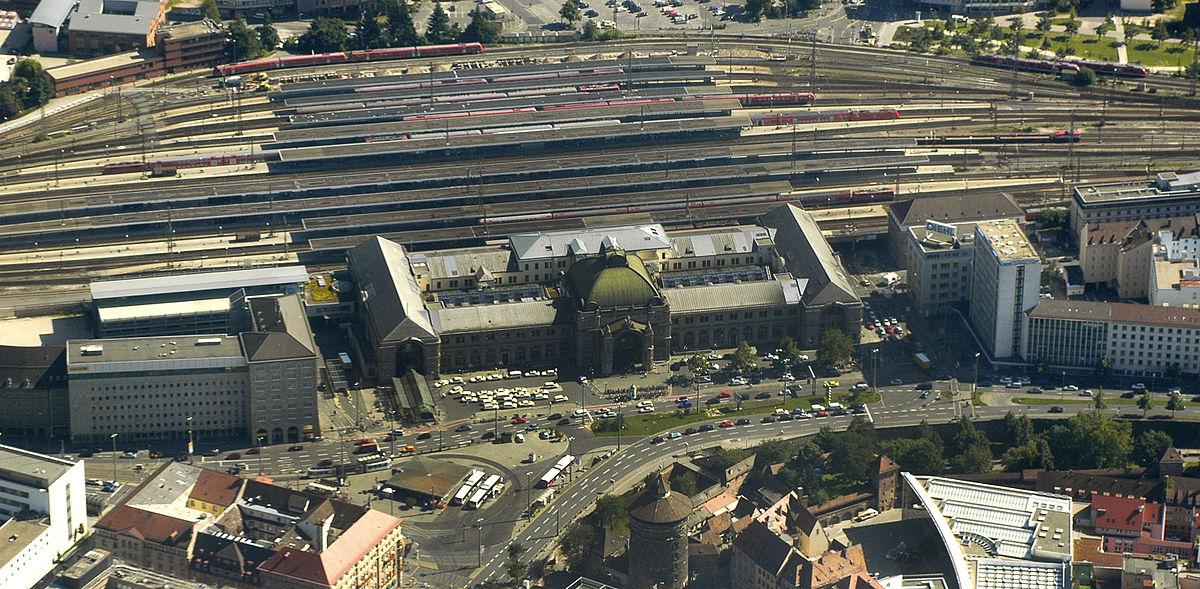 Nuremberg Aerial Hauptbahnhof.JPG