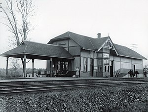 Oakville GO Station - Oakville station, circa 1920