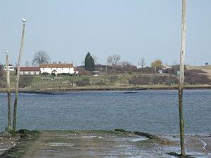 The Swale - Harty Ferry causeway, Oare, Kent