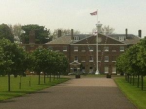 Royal Marine Depot, Deal - Officers' Mess, South Barracks, Deal