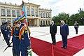 Official welcoming ceremony held for Moldovan president Igor Dodon 6.jpg