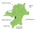Ogori in Fukuoka Prefecture.png