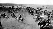 The Oklahoma Land Rush of 1889