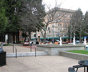 Old Courthouse Square, Downtown Santa Rosa