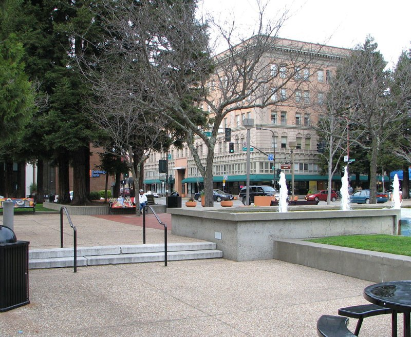 Old Courthouse Square in Downtown Santa Rosa