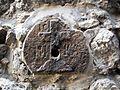 Old Jerusalem Via Dolorosa Station VIII cross.jpg