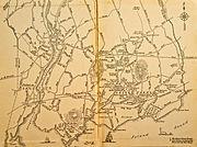 Old Map of Westport, CT