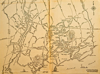 Westport, Connecticut - Old Map of Westport, CT