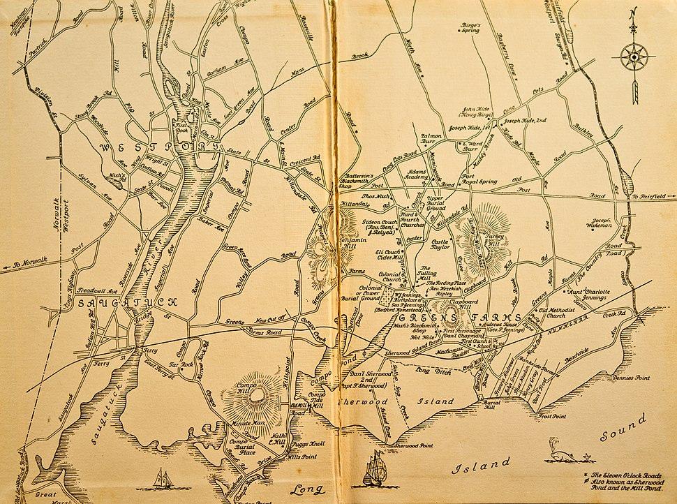 Old Map of Westport, CT.jpg