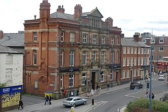 Parr's Bank - Former Warrington main branch of Parr's Bank