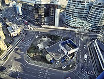 Old Street Roundabout from above in 2012.jpg