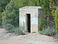 Old explosive storage building, Dividend, Utah, May 16.jpg