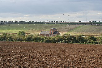 South Luffenham - The former mill by the railway