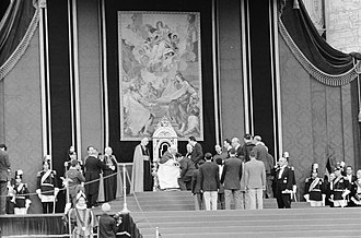 Pope John XXIII - John XXIII greets sportsmen for the 1960 Summer Olympics on 28 August 1960.