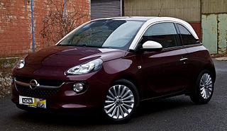 Opel Adam city car