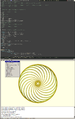 Openscad with external editor.png