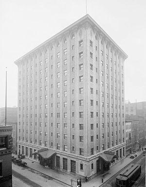 Statler Hotels - Image: Original Hotel Statler