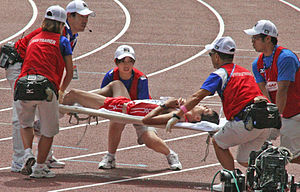 2007 World Championships in Athletics - Image: Osaka 07 D8M Yuki Yamazaki Helpers