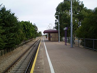 Outer Harbor railway line - Image: Osborne Railway Station Adelaide