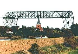 Transporter bridge - Image: Osten