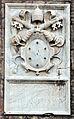 Ostia antica, castello di giulio II, stemma 03 medici.JPG
